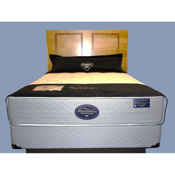 Spring Air Ellenton Plush Back Supporter Mattress Set