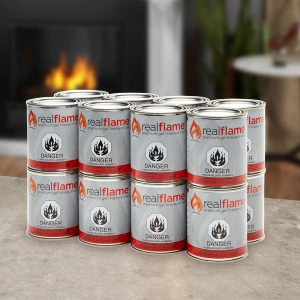 Real Flame 13-oz Gel Fuel (Case of 16)