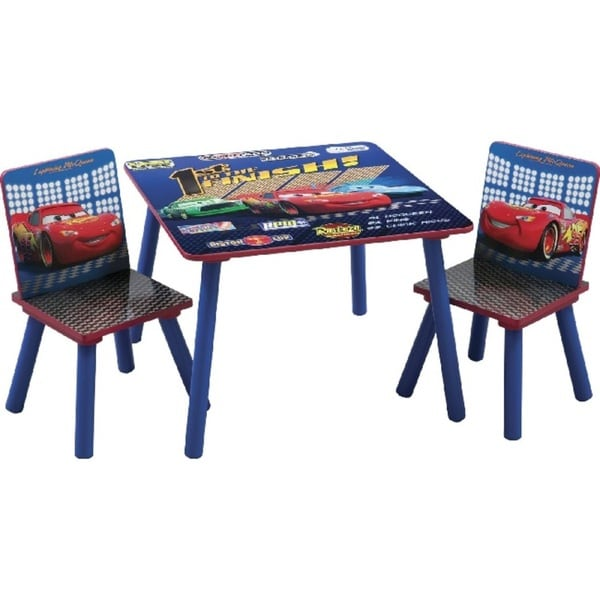 Disney Pixar Cars Square Table/ Chair Set