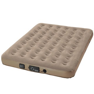 InstaBed Standard Queen-size Airbed with Never Flat Pump