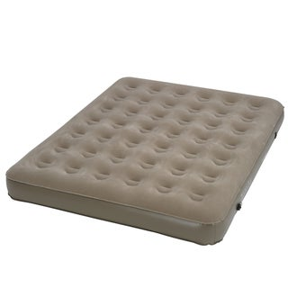 InstaBed Standard Height Queen-size Airbed with External 4D Pump