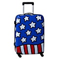 Ed Heck Stars n Stripes Red, White and Blue 25-inch Hardside Spinner