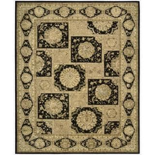 Nourison 3000 Hand-tufted Black Rug (3'9 x 5'9)