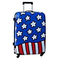 Ed Heck Stars n Stripes Red, White and Blue 28-inch Hardside Spinner Upright