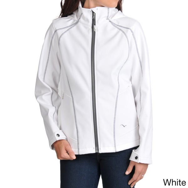 Hawke & Co. Women's Soft Shell with Contrast Stitching Jacket