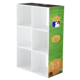 My Owners Box MLB 6-cube Vertical Storage Oraganizer