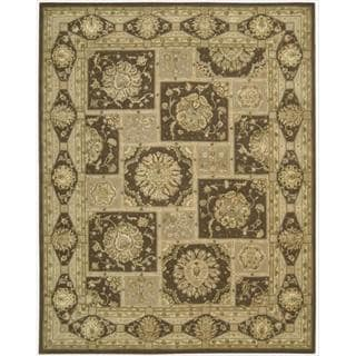 Nourison 3000 Hand-Tufted Brown Area Rug (8'6