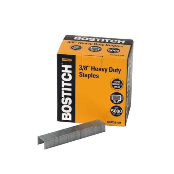 Stanley Bostitch Premium Quality Heavy-duty 0.375-inch Staples (Box of 5,000)