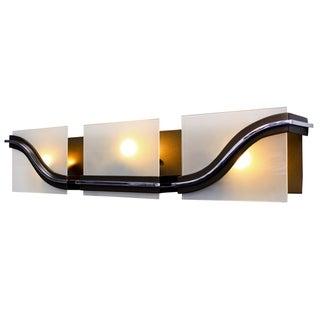 Varaluz Quirk 3-light New Bronze Bath Light