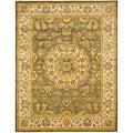 Safavieh Handmade Heritage Taupe/ Ivory Wool Rug (9' x 12')