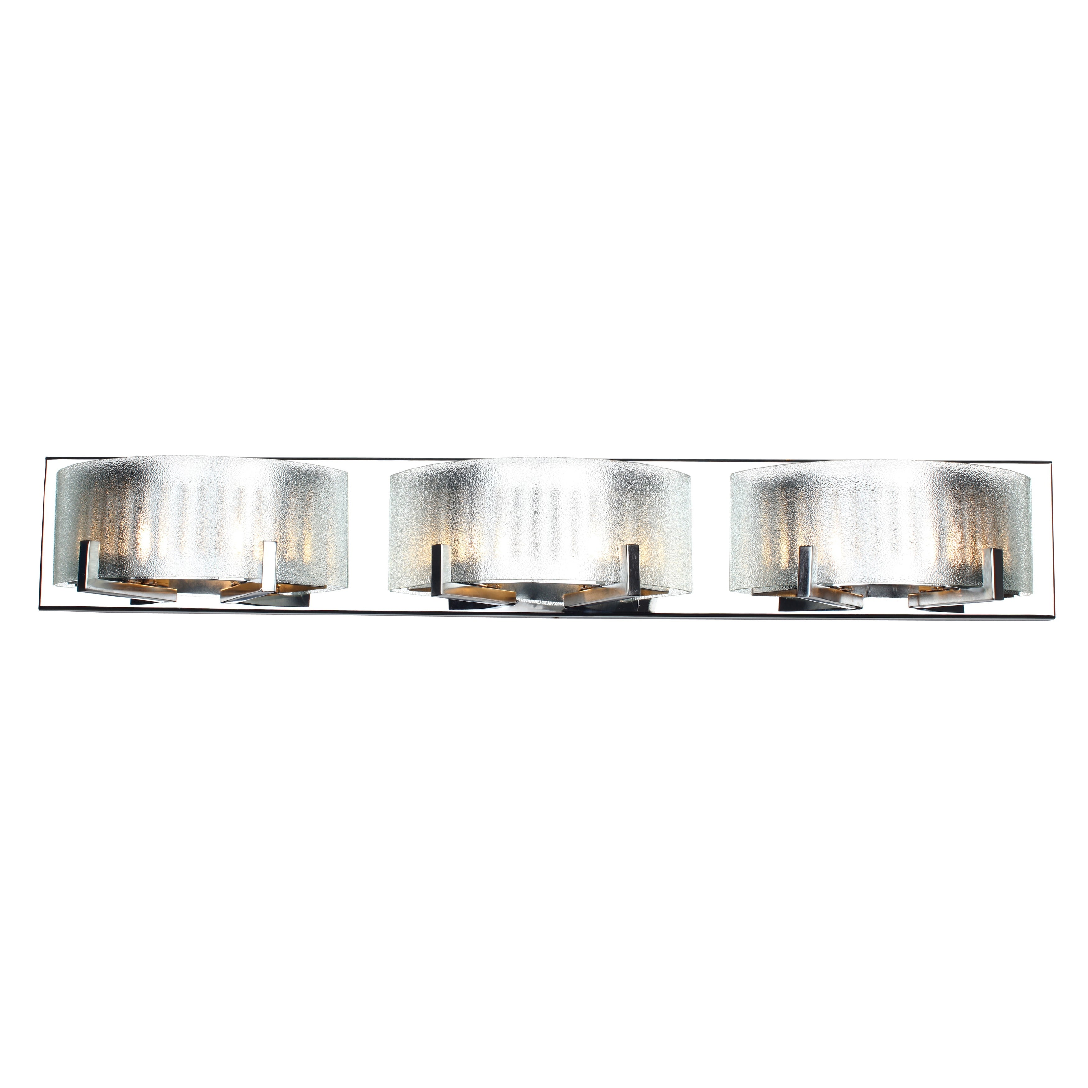 Alternating Current Firefly 6-light Chrome Vanity Fixture