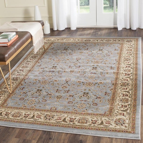 Safavieh Lyndhurst Oriental Light Blue/ Ivory Rug (4' Square)