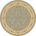 Safavieh Lyndhurst Floral Motif Greyish Blue/ Ivory Rug (6' Round)
