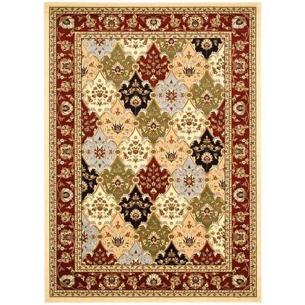 Safavieh Lyndhurst Collection Multicolor/ Red Rug (4' x 6')