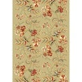 Safavieh Lyndhurst Collection Floral Sage Runner Rug (4' x 6')
