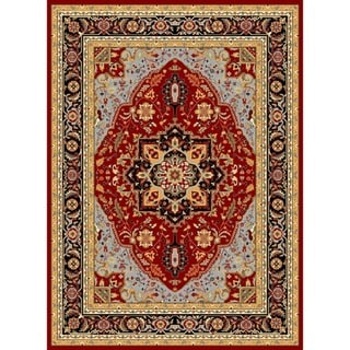 Safavieh Lyndhurst Collection Red/ Black Rug (9' x 12')