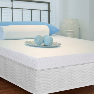 Priage Elite Gel Memory Foam 2.5-inch Mattress Topper