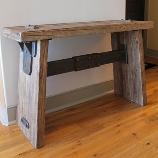 Rustic Forge Large Console Table