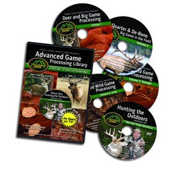 Outdoor Edge Volume 1-4 Game Processing DVD's