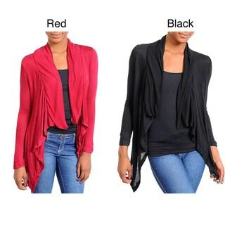 Stanzino Women's Asymmetric Front Cardigan