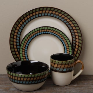 Tabletop Unlimited 'Lison' 16-piece Dinnerware Set