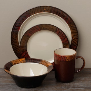 Tabletop Gallery 'Kenya' 16-piece Dinnerware Set