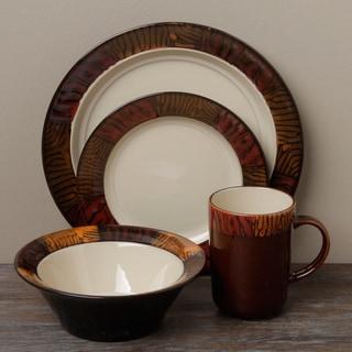 Tabletop Gallery 'Kenya' 16-piece Dinnerware Set