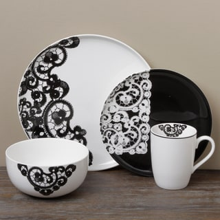 Tabletops Unlimited Satin 16-piece Dinnerware Set