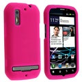 BasAcc Pink Snap-on Rubber Coated Case for Motorola Photon MB855 4G