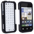 BasAcc Black Snap-on Rubber Coated Case for Motorola MB300/ Backflip