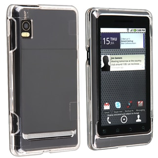 BasAcc Crystal Snap-on Case for Motorola Droid 2 A955