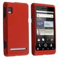 BasAcc Wine Red Snap-on Rubber Coated Case for Motorola A955 Droid 2