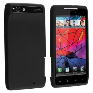 BasAcc Black Silicone Skin Case for Motorola Droid RAZR XT910