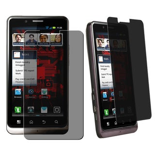BasAcc Privacy Filter Screen Protector for Motorola Droid Bionic XT875