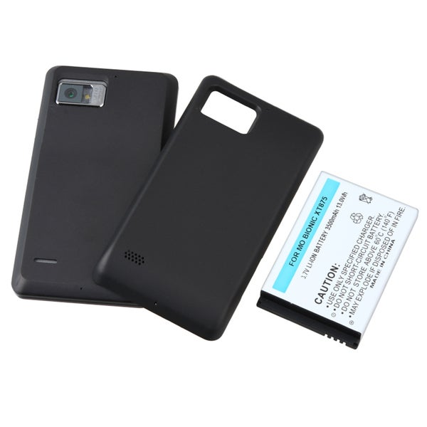 BasAcc Li-ion Battery with Cover for Motorola Droid Bionic XT875