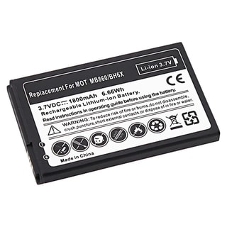 BasAcc Compatible Li-ion Battery for Motorola MB860 ATRIX 4G