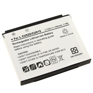 BasAcc Li-ion Battery for LG VU CU920/ CU915