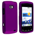 BasAcc Dark Purple Snap-on Rubber Coated Case for LG Ally VS740