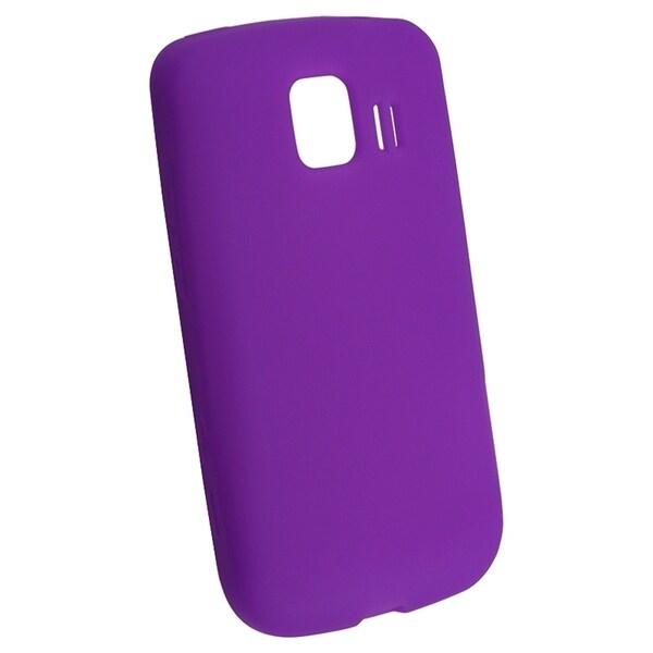BasAcc Dark Purple Silicone Skin Case for LG LS670 Optimus S