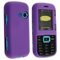 BasAcc Dark Purple Snap-on Rubber Coated Case for LG Cosmos VN250