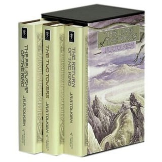 Lord of the Rings: The Return of the King/the Two Towers/the Fellowship of the Ring (Hardcover)