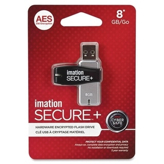 Imation Secure Drive Hardware Encrypted Flash Drive