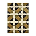 Alliyah Handmade Honey Gold New Zealand Blend Wool Rug (5' x 8')