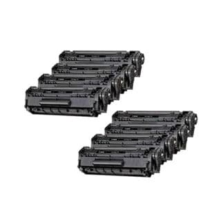 New Compatible 104 Black Laser Toner Cartridge for Canon ImageClass Printer (Pack of 8)