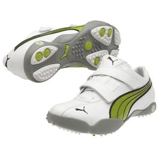 Womens White / Lime Puma Tallula Alt Golf Shoes