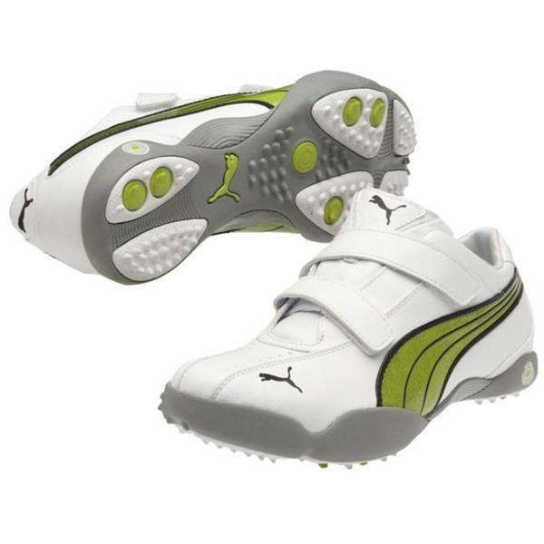 Womens White / Lime Puma Tallula Alt Golf Shoes