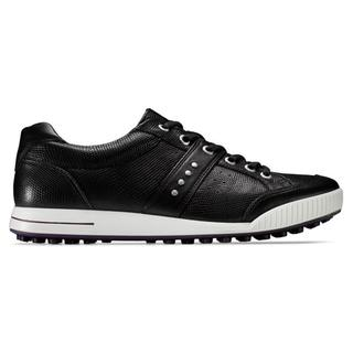 Ecco Men's Black Street Premier Golf Shoes