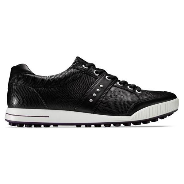 Ecco Men's Black Street Premier Golf Shoes