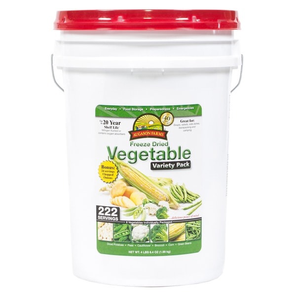 Augason Farms' Freeze Dried Vegetable Variety Pack