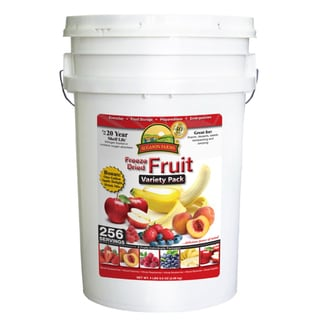 Augason Farms' Freeze Dried Fruit Variety Pack